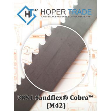 Биметаллическая ленточная пила 3851 Sandflex® Cobra™ (M42) 3851-6-0,6